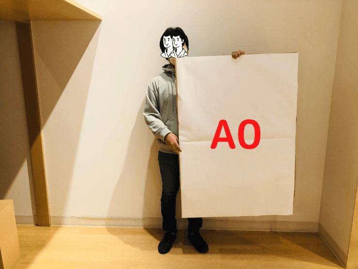 実際のA0サイズ